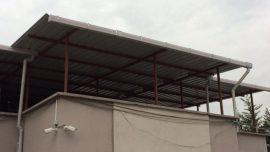 Çatı tadilatı ve yapımı iş örneği