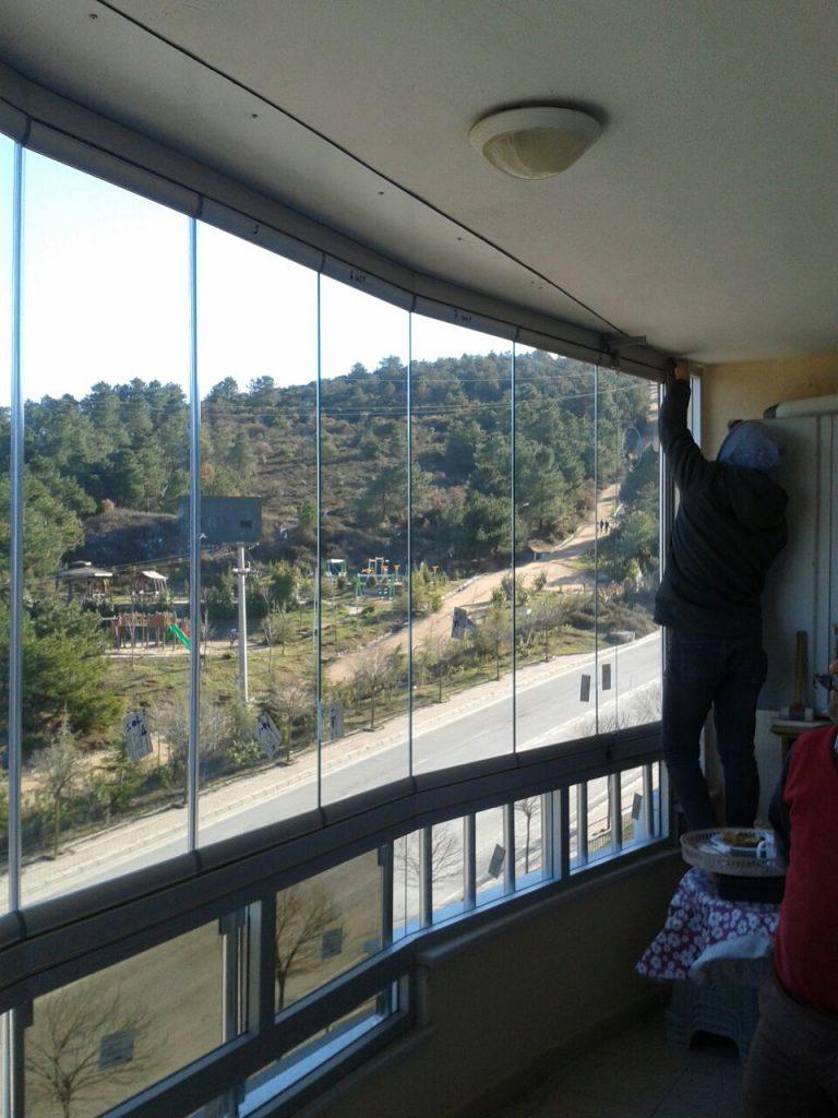 Cam balkon Yapımı