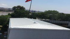 Sandviç panel çatı çelik konstrüksiyon