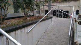 Engelli Merdiveni Korkuluk Yapımı İşi