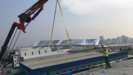 Fabrika Çatı Onarımı ve Yapımı İşi