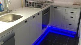 LED Mutfak Dolabı ve Granit Tezgah İşi